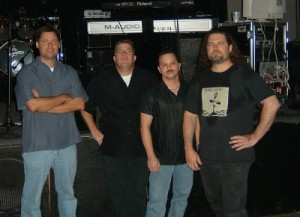 Twenty3:Fifty9 - Bill Rankin (drums), Brian Bradford (keys), Tom Martino (bass, vocals) and Jeff Beardsley (guitars, vocals) -- Photo: Fred Trafton